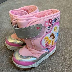 Disney Princess Light Up Snow Boots